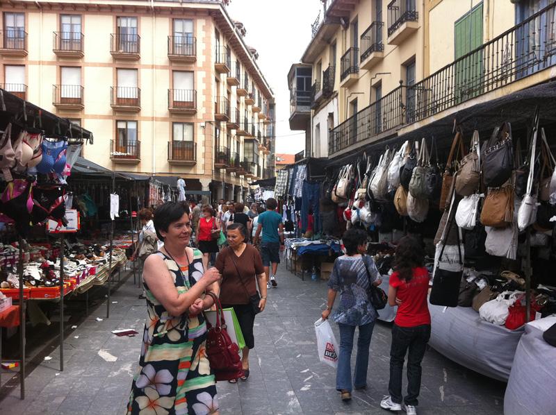 Mercadillo en Astorga