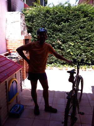 Fernando, mi salvador a la altura de Valladolid.