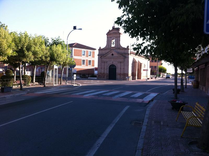 Ermita en Nava de la Asunción
