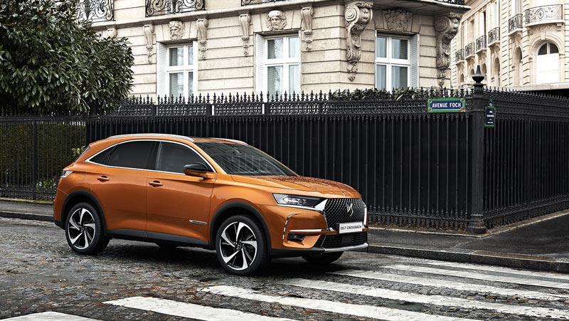 DS7 Crossback vista lateral