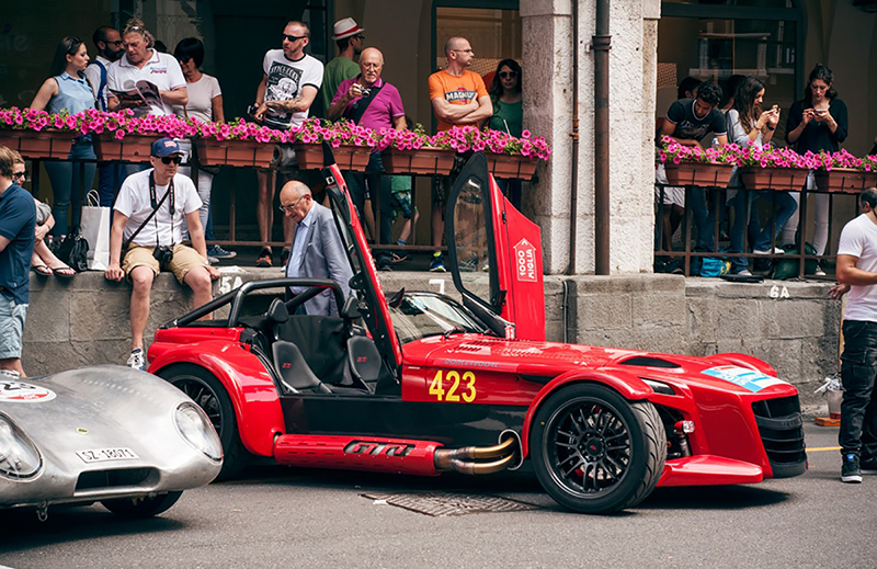 Foto Lateral Donkervoort D8 Gto Miglia Edition Descapotable 2015