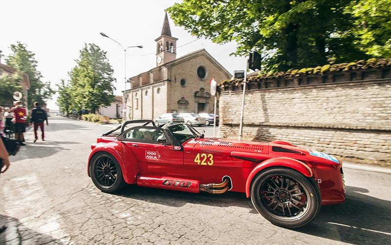 Foto Perfil Donkervoort D8 Gto Miglia Edition Descapotable 2015