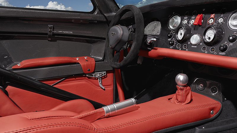 Interior Donkervoort D8 GTO RS 2016