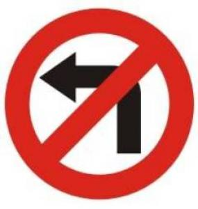 Girar a la izquierda es peligroso