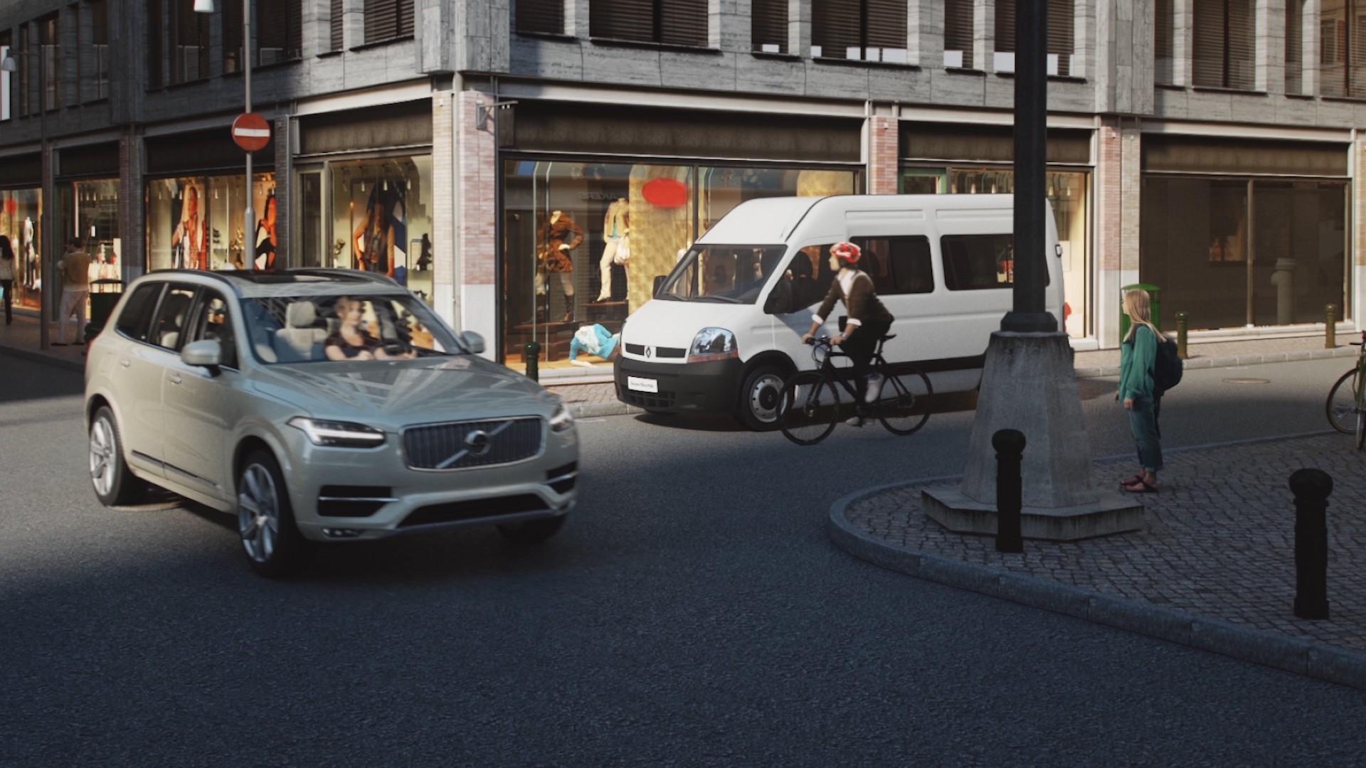 Sistema para evitar accidentes entre vehículos y ciclistas