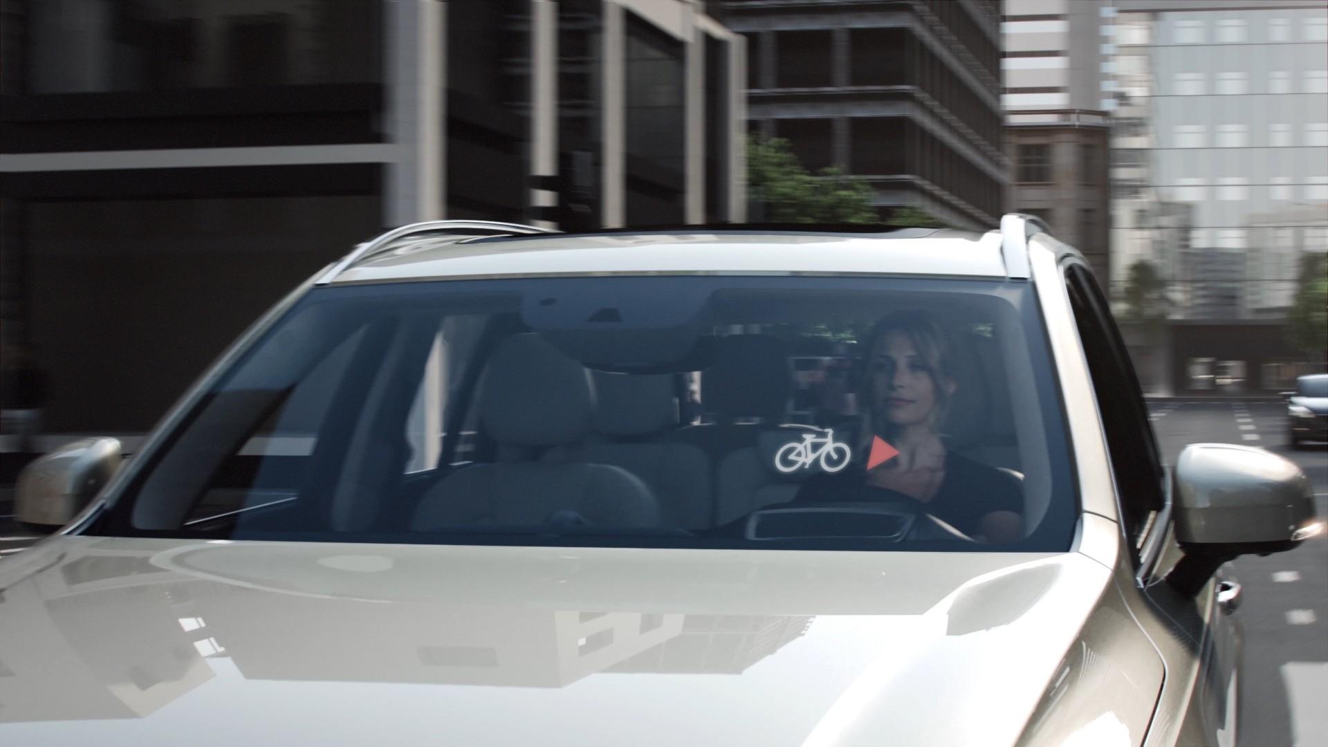 Sistema para evitar accidentes entre coches y ciclistas