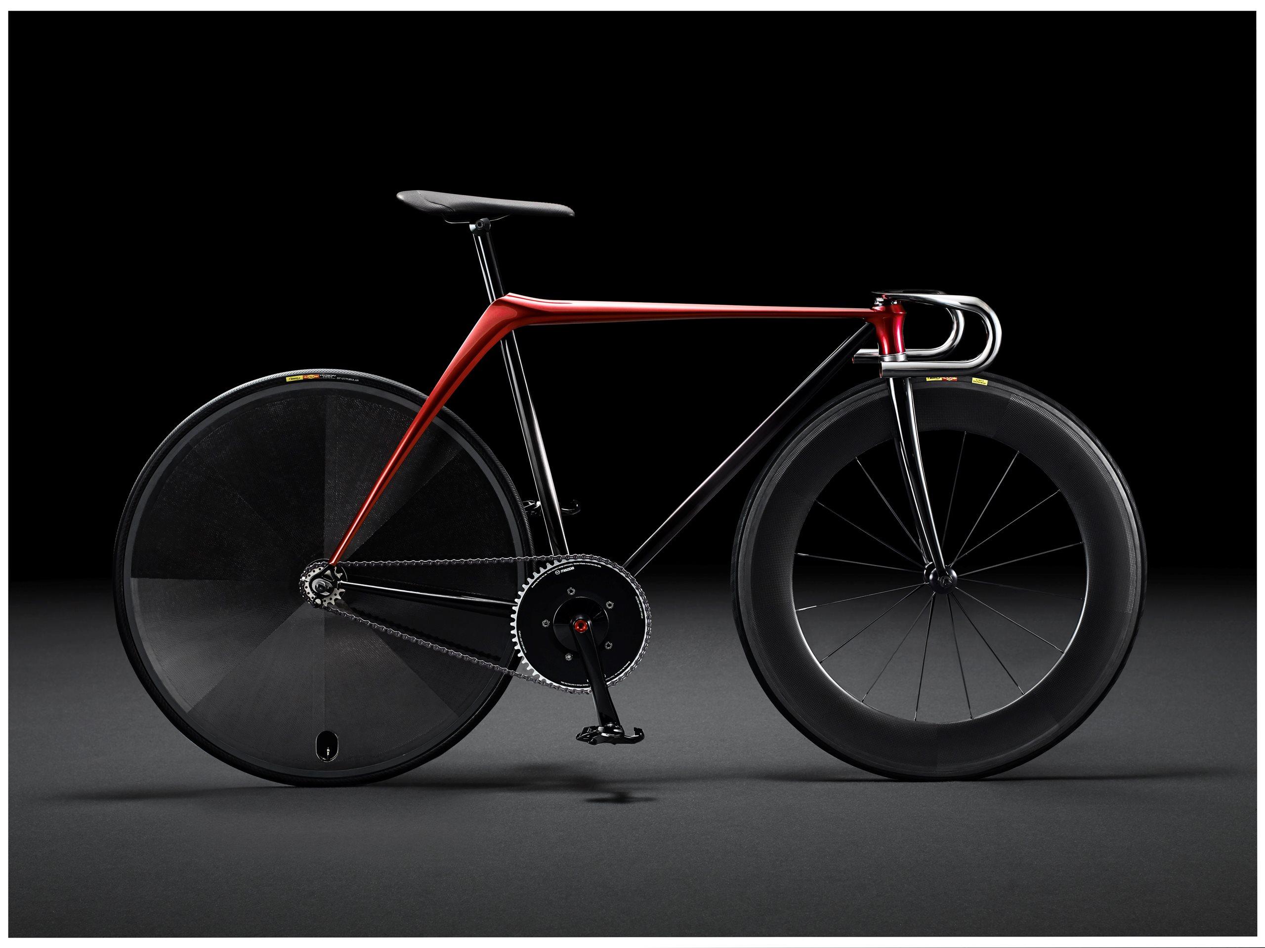 Bicicleta Mazda con diseño KODO