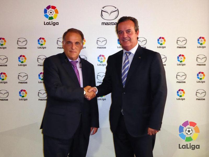 Mazda será patrocinador oficial de la liga BBVA