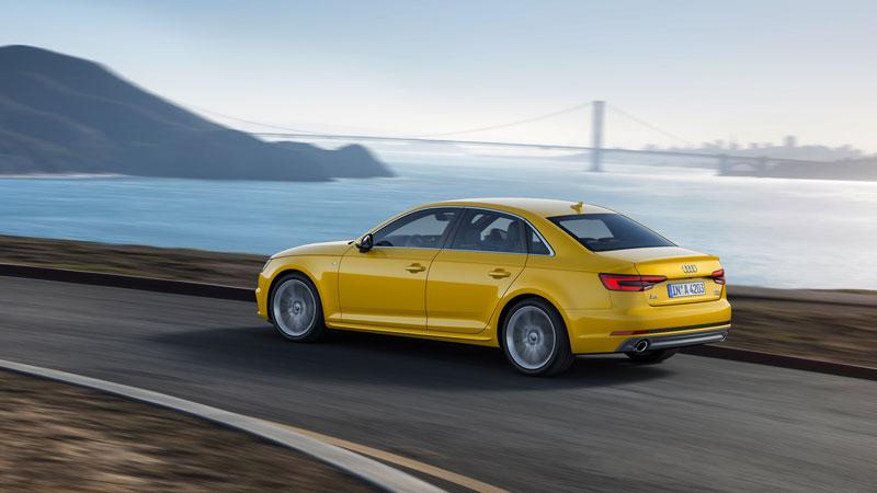 Al Audi A4 es muy seguro
