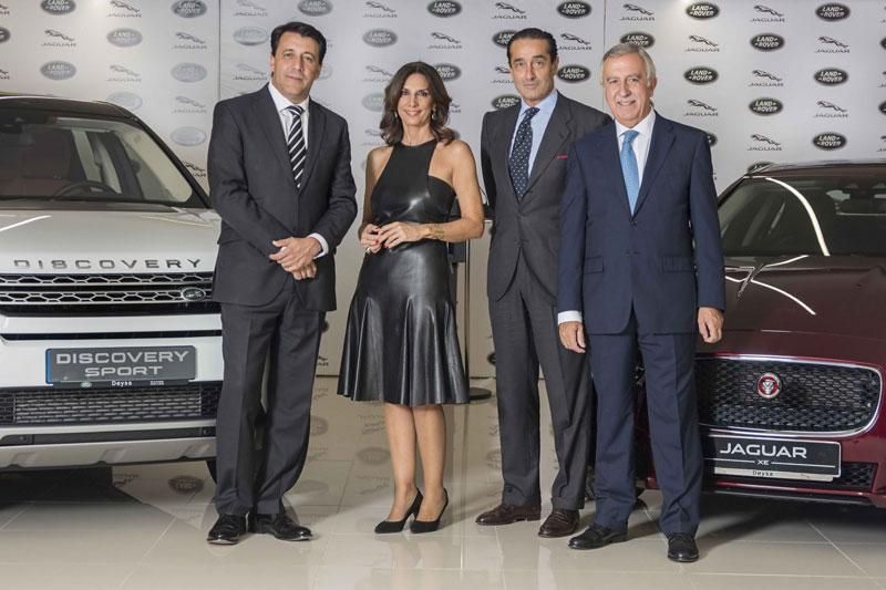 Deysa es una instalacion dual de Jaguar Land Rover