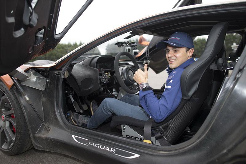 Massa valoró el coche muy positivamente