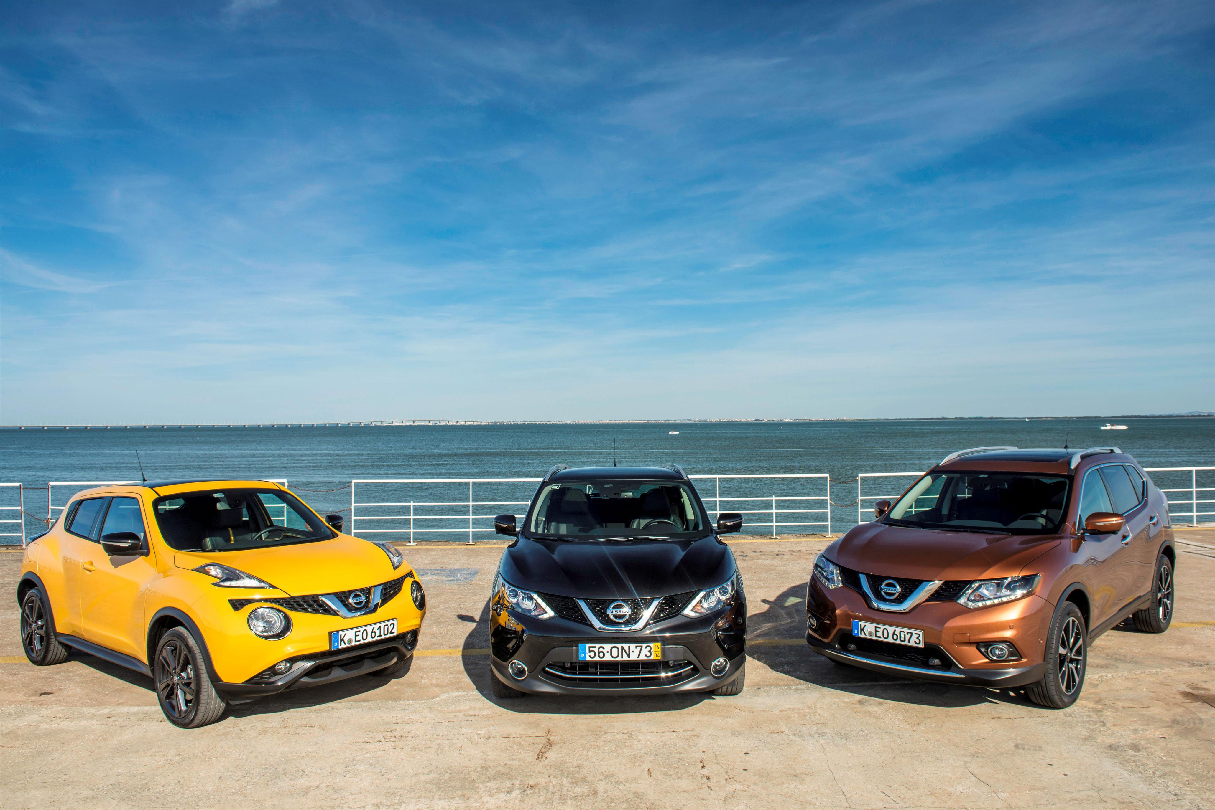 La gama de crossover de Nissan será uno de los atractivos del nuevo concesionario Gamboa