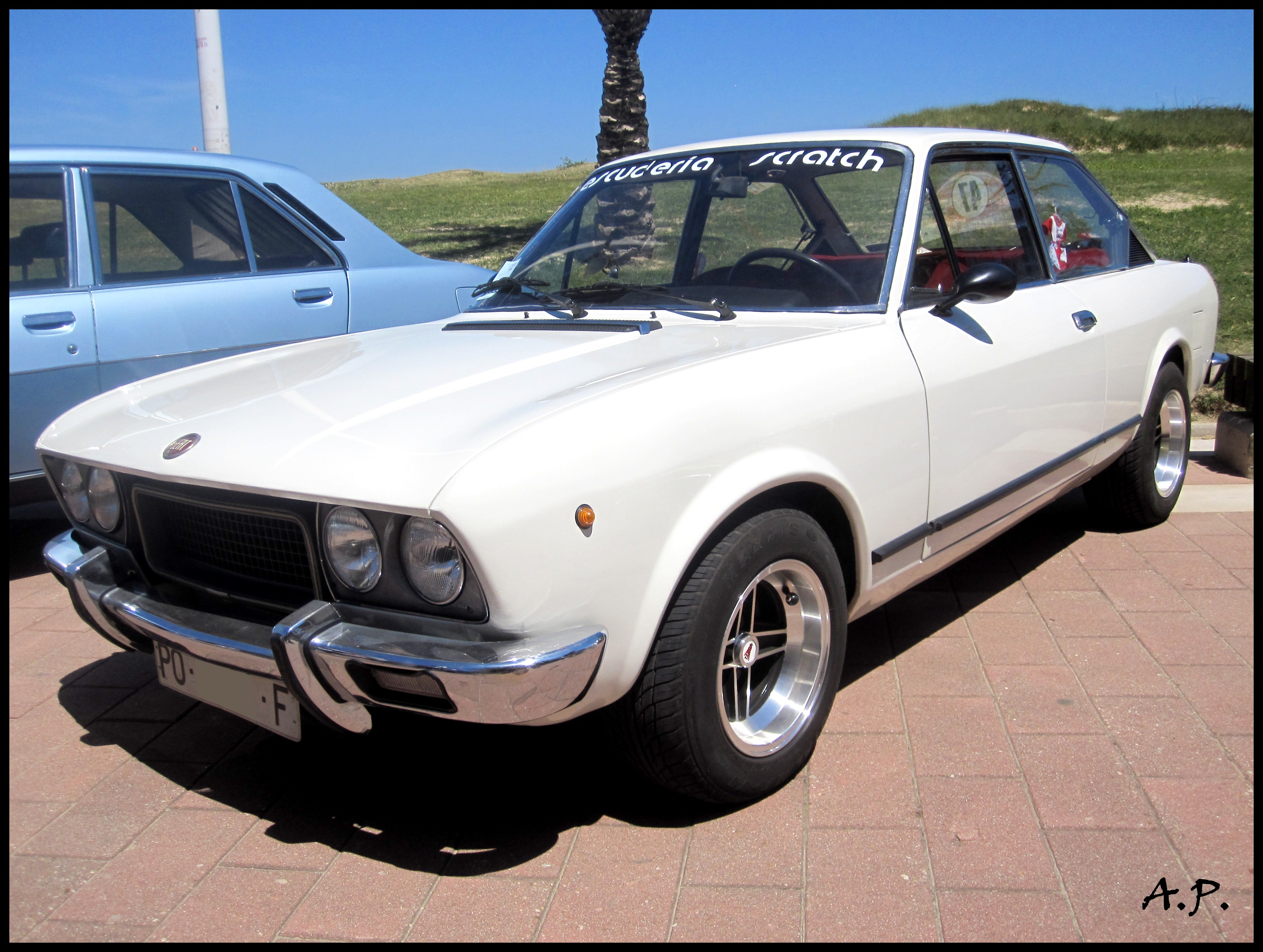 SEAT 124 Sport Coupe 1975