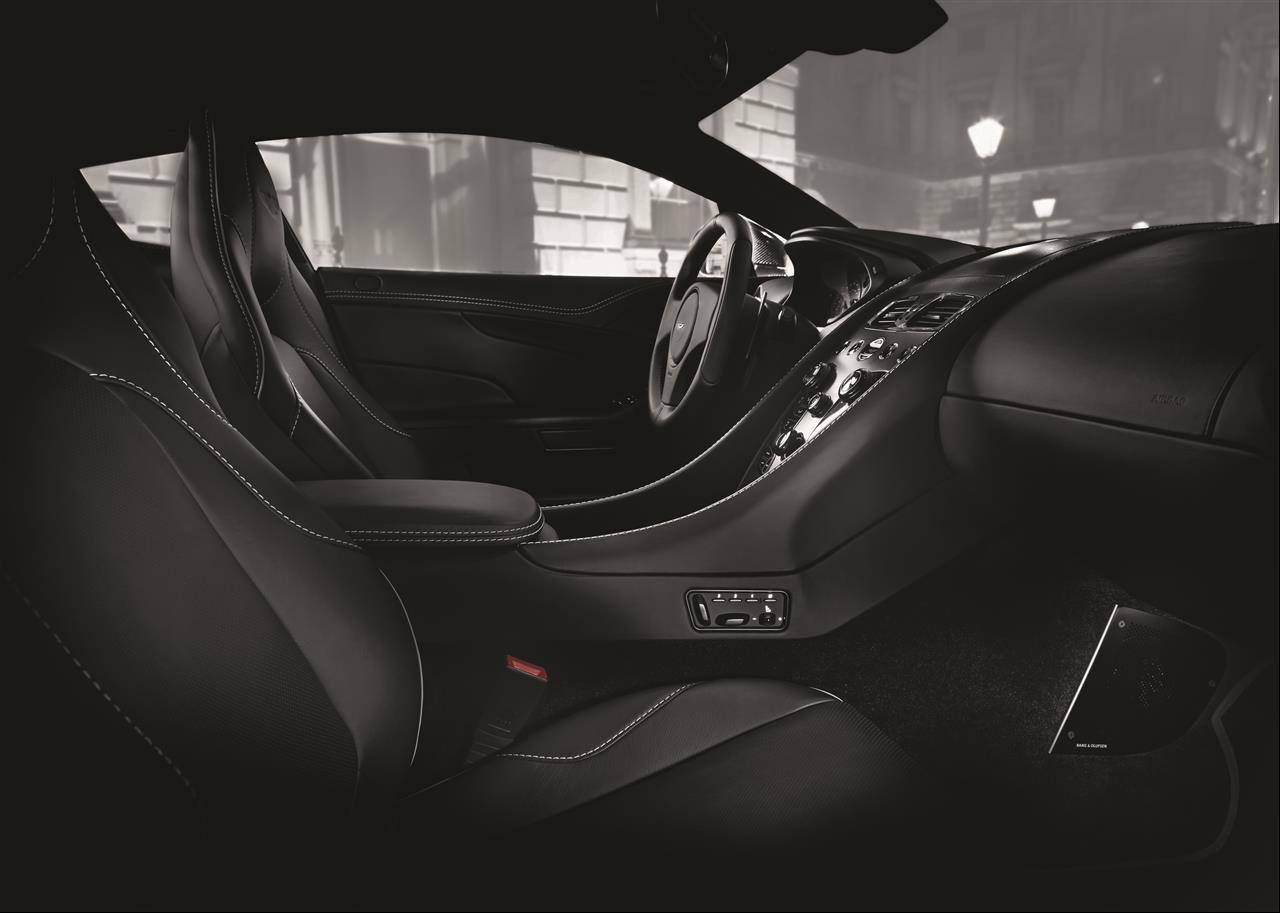 Interior Aston Martin Vanquish Carbon Edition