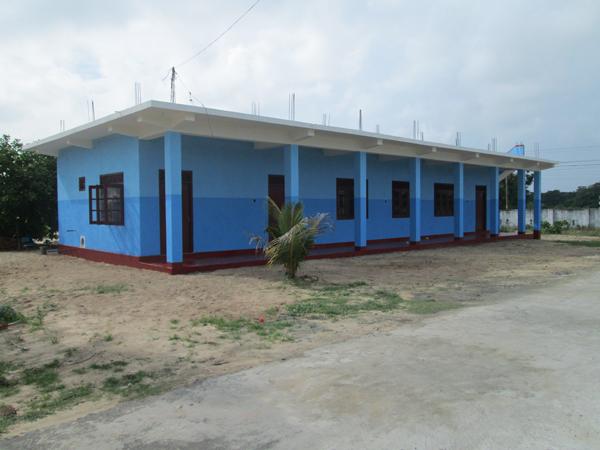 Escuela de fundación gomaespuma en Sri Lanka