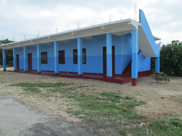 Escuela Fundación Goma Espuma en Sri Lanka