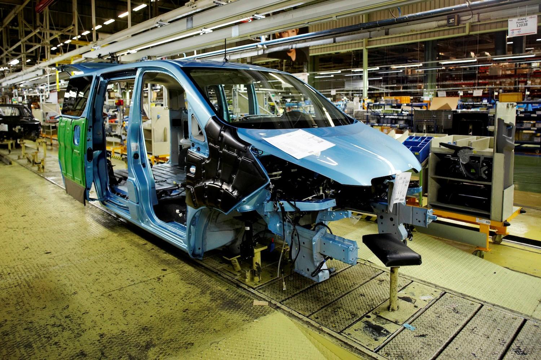 Nissan e-NV200 se fabrica en España