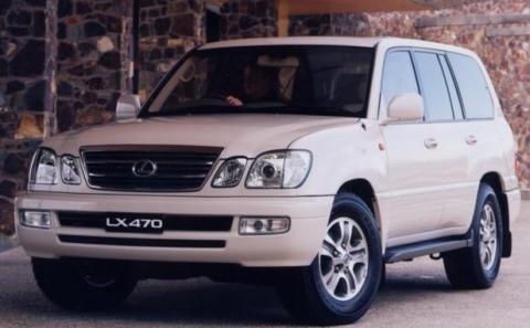 Lexus LX 470 del 2005