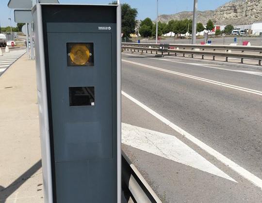 Radar ubicado con poca seguridad