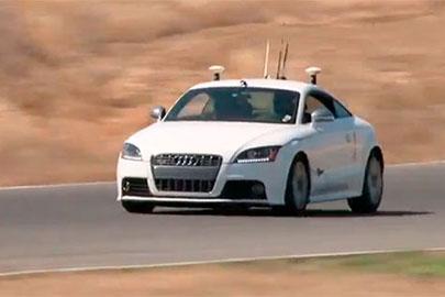 Audi TT autónomo Shelley