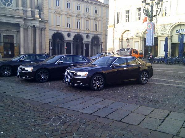 Lancia Thema Piazza Carignano
