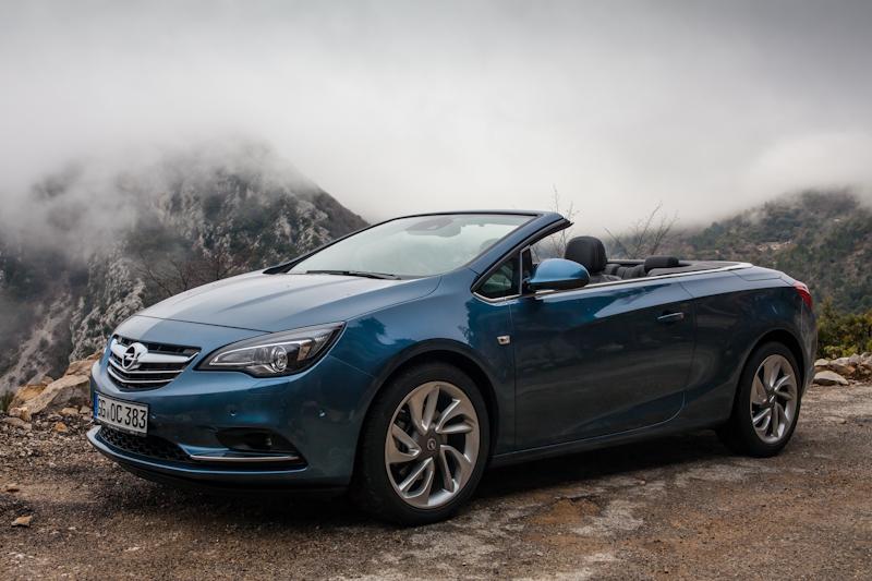 Opel Cabrio 2013 Azul