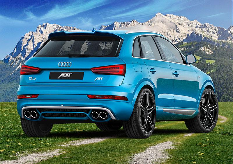 Foto Audi Abt Q3 2015 Abt Q3 Suv Todocamino 2015