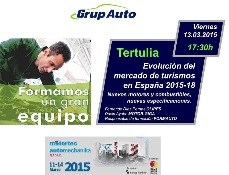 Foto Tertulia Evolucion Mercado Turismos 2015 18 (1) Aceites Olipes Motortec 2015