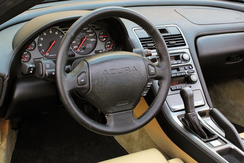 Foto Interiores Acura Nsx Cupe 2005