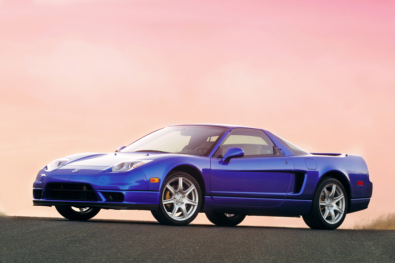 Foto Lateral Acura Nsx Cupe 2005