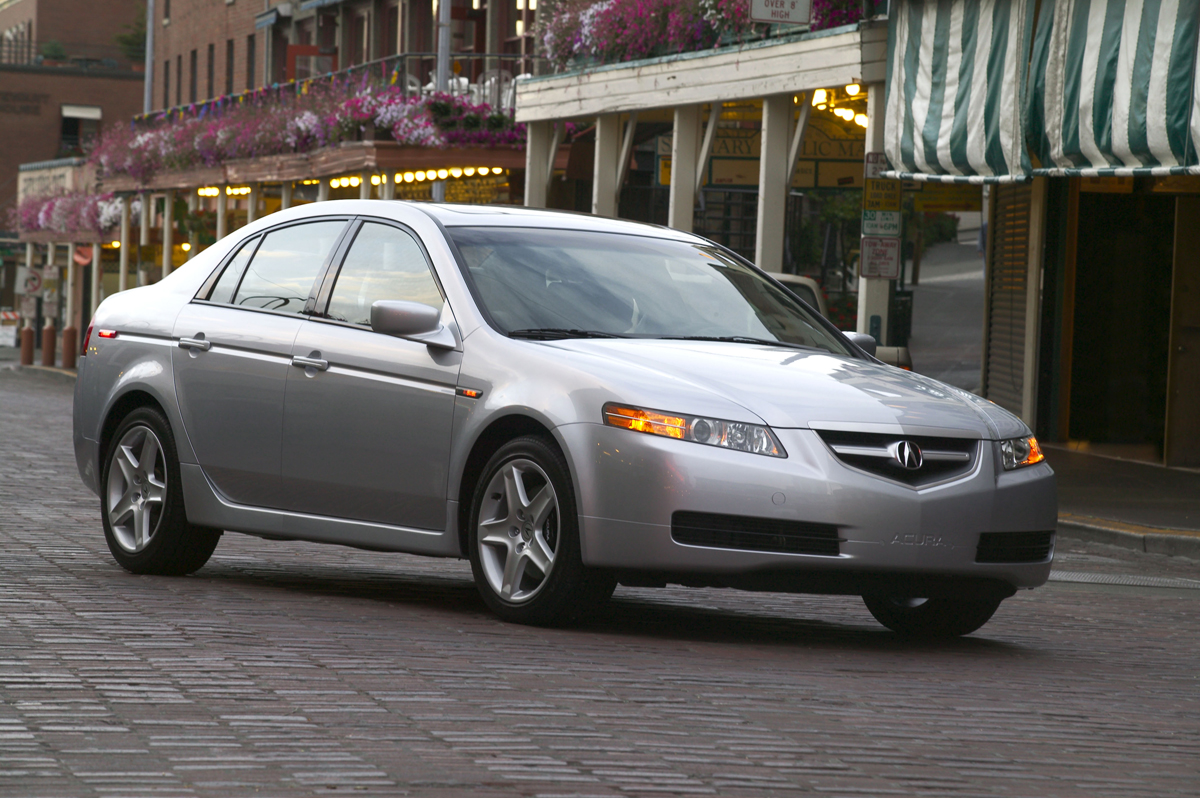 foto exteriores 11 acura tl sedan 2005. Black Bedroom Furniture Sets. Home Design Ideas