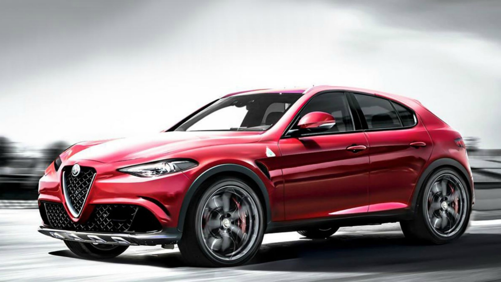 Alfa Romeo SUV render