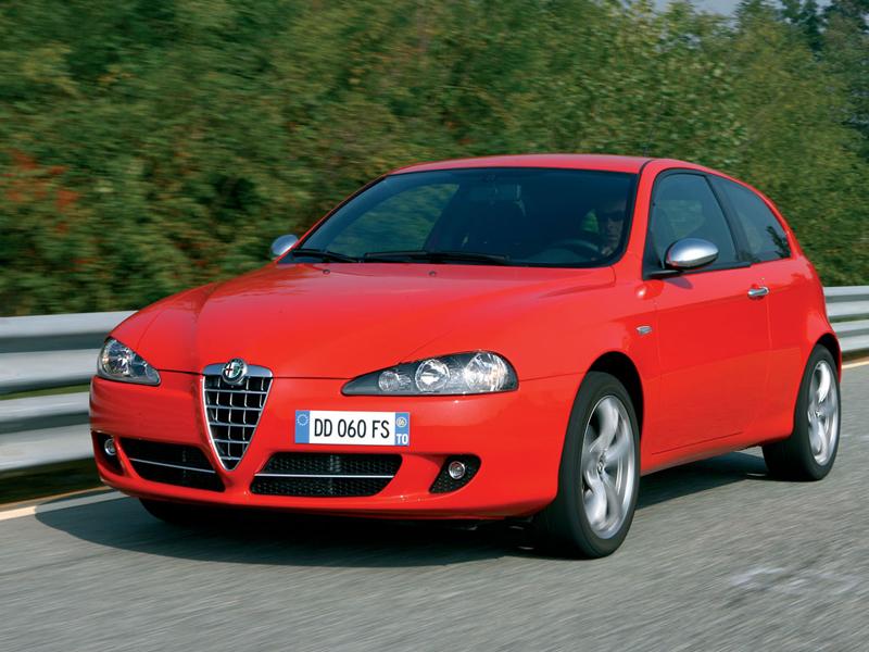 Foto Delantero Alfa Romeo 147 Dos Volumenes 2007