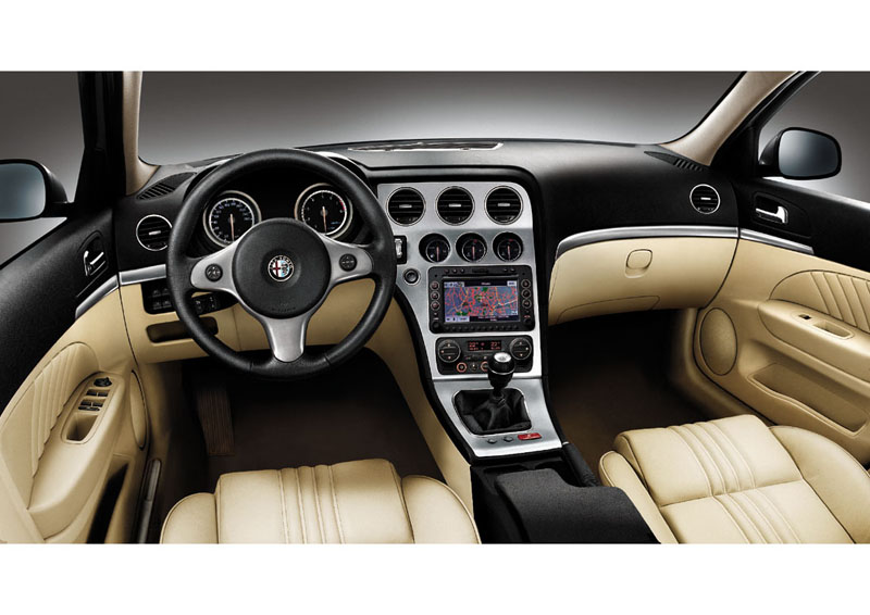 Foto Interiores Alfa romeo 159 Sedan 2008