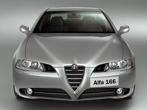 Foto Frontal Alfa romeo 166 Sedan