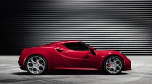 Foto Lateral Alfa Romeo 4c Cupe 2013