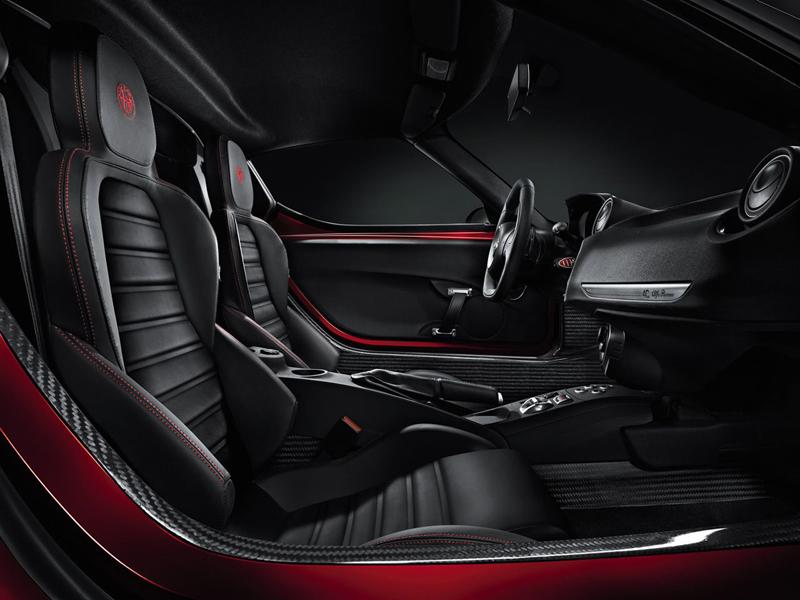 Foto Interiores Alfa Romeo 4c Cupe 2013