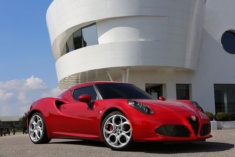 Foto Exteriores Alfa Romeo 4c Cupe 2013