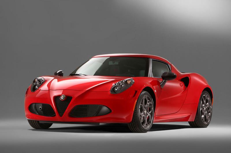 Foto Delantera Alfa Romeo 4c Cupe 2014