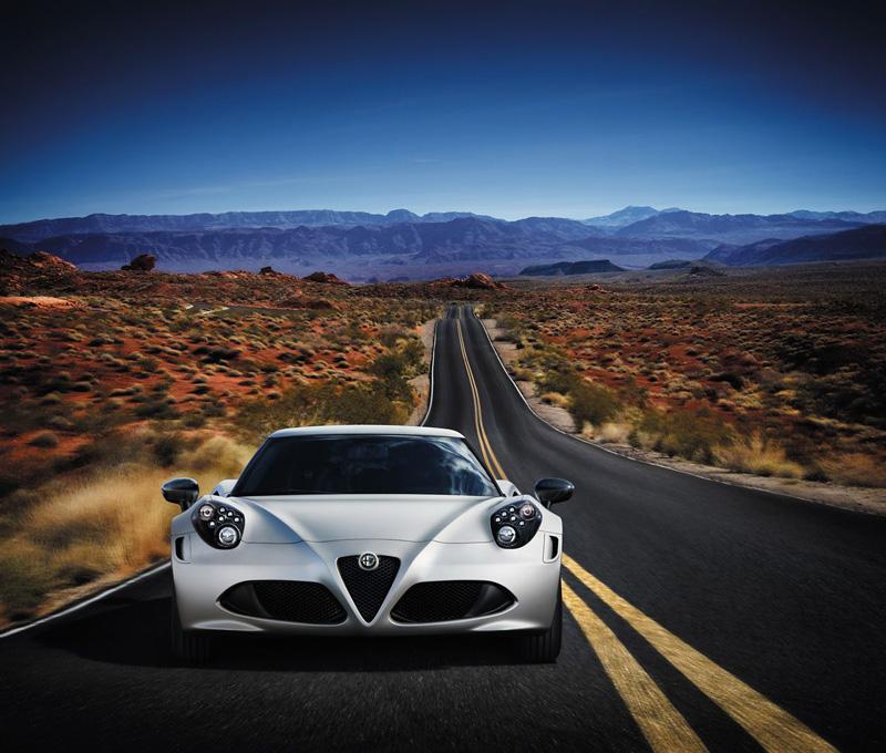 Foto Exteriores(1) Alfa Romeo 4c Cupe 2014