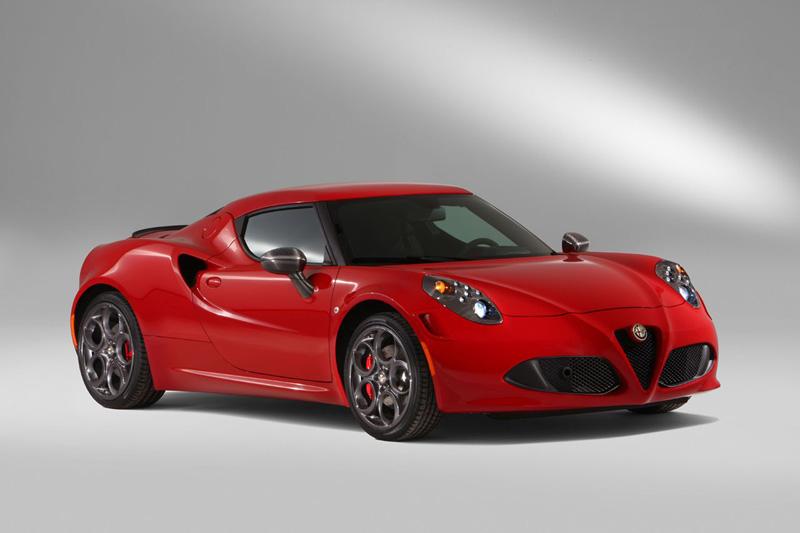 Foto Exteriores Alfa Romeo 4c Cupe 2014