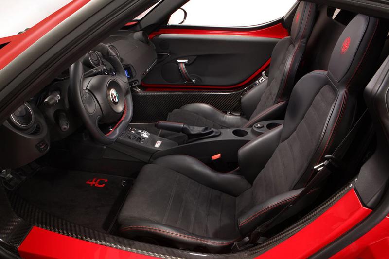 Foto Interiores(1) Alfa Romeo 4c Cupe 2014