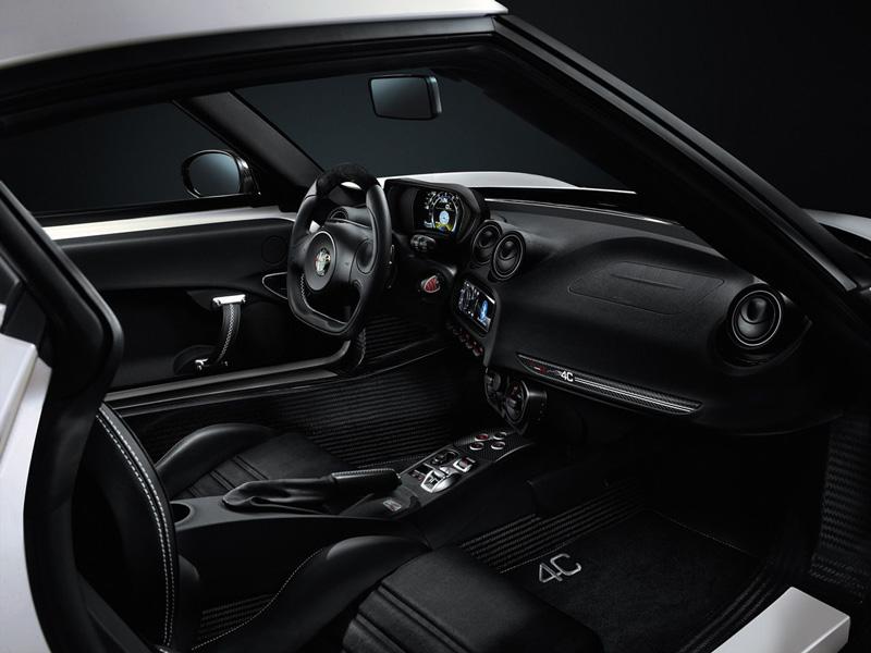 Interiores Alfa Romeo 4c