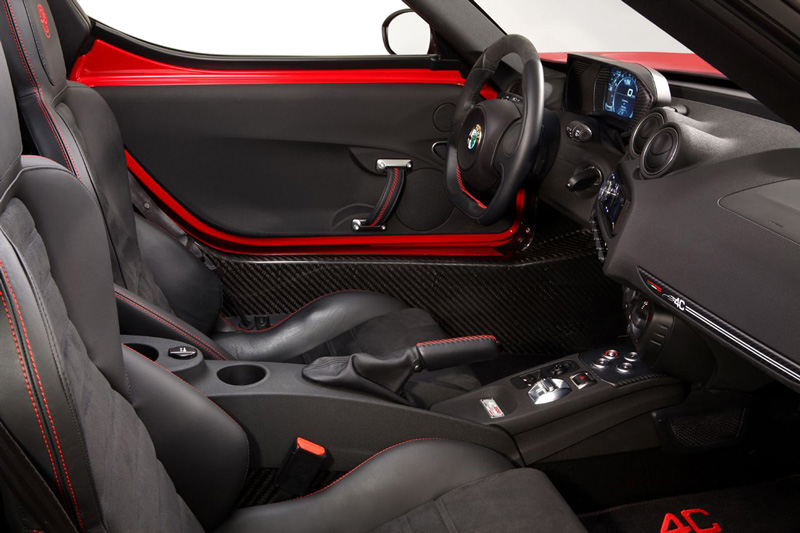 Foto Interiores Alfa Romeo 4c Cupe 2014