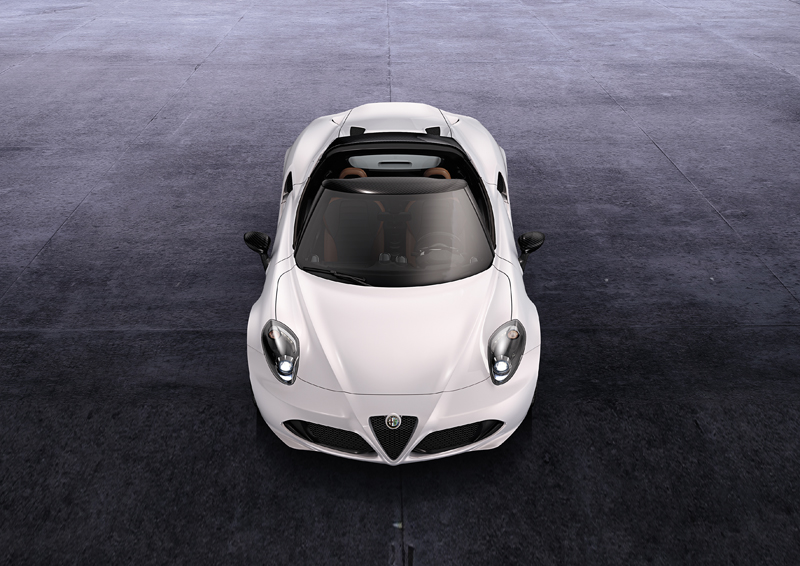 Foto Frontal Alfa Romeo 4c Descapotable 2014