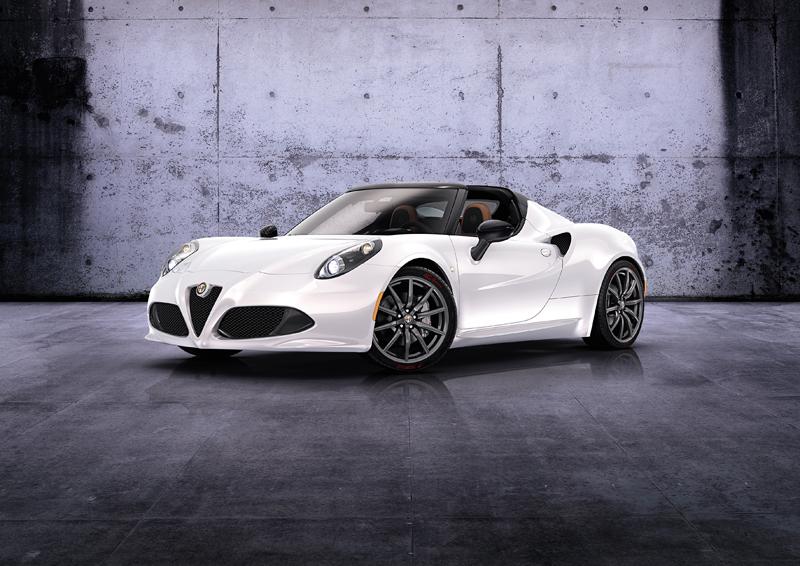 Foto Perfil Alfa Romeo 4c Descapotable 2014