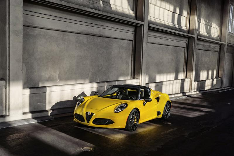 Foto Exteriores Alfa Romeo 4c Spider Descapotable 2015