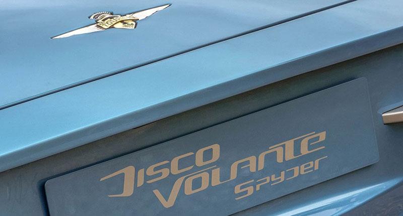 Foto Detalles Alfa Romeo Disco Volante Descapotable 2016