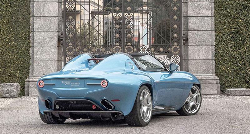Foto Exteriores Alfa Romeo Disco Volante Descapotable 2016