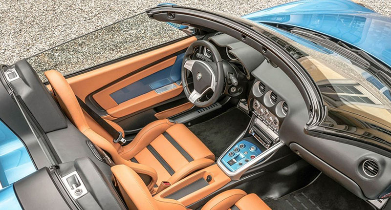 Foto Interiores Alfa Romeo Disco Volante Descapotable 2016